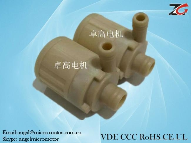 dc brushless water pump for Automatic teapot 1