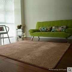 可水洗客厅卧室书房地毯 飘窗垫可爱防滑垫床前地毯