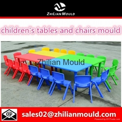 2015 safe and durable plastic table and chair mould