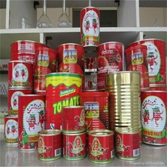 brix 28-30% tomato paste in can