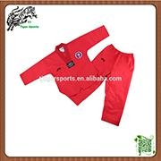 V neck taekwondo uniform WTF