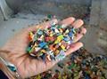 plastic flake or rigid material extruder