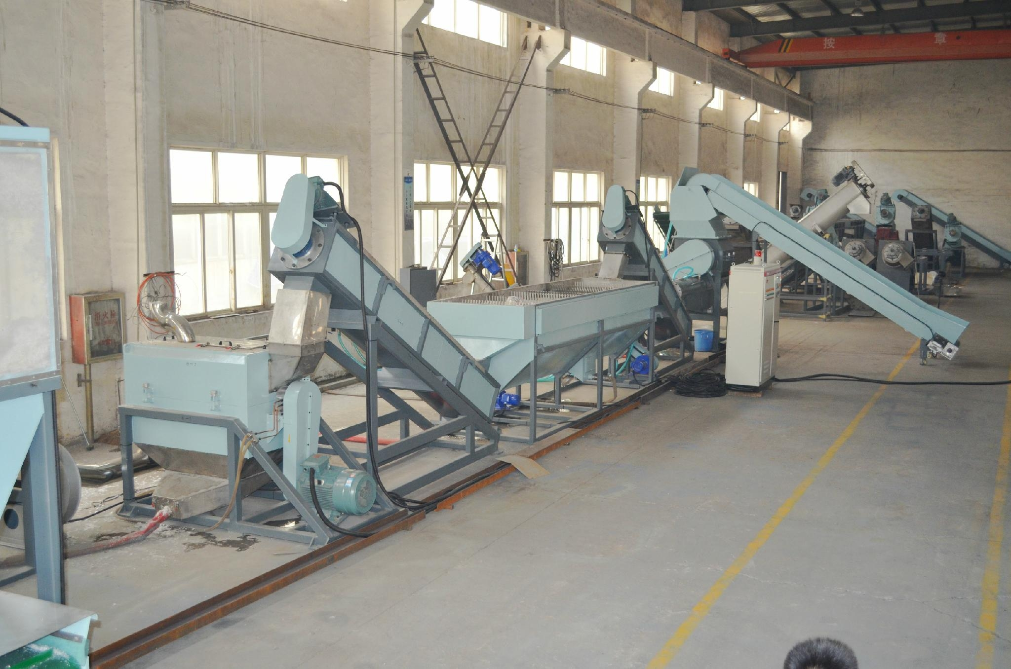 PP PE Film Recycle  Washing Line and Plastic Recycling Machine