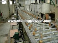 automatic glassbottle frosting machine
