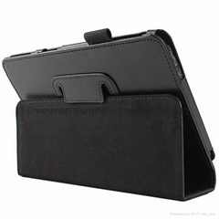 Soft PU stand tablet pc case for Samsung Galaxy Tab 4 T330