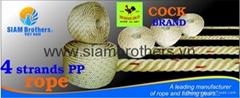 4 Strands Polypropylene Braided Rope