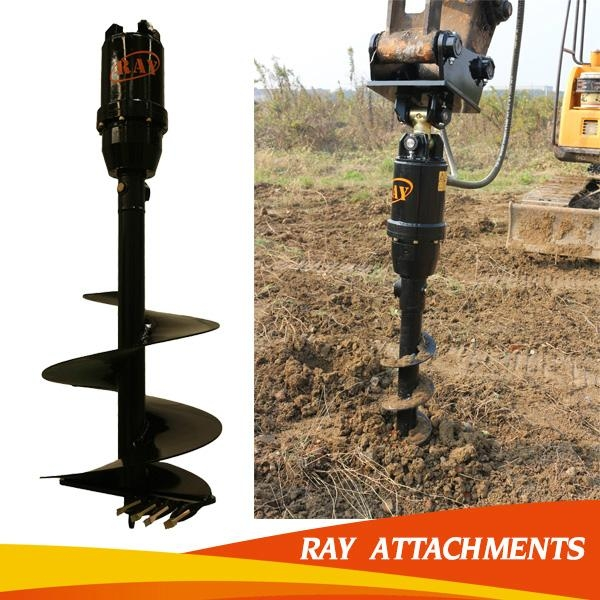 hydraulic earth auger for excavator use 1