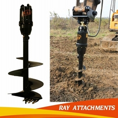 hydraulic earth auger for excavator use