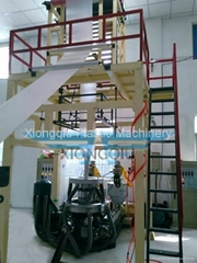 AB/ABA 2 layers co-extrusion film blowing machine