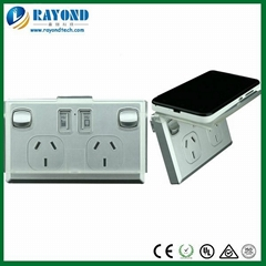 SAA Approved Double GPO Power Point with