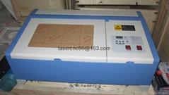 mini 40W laser engraving cutting machine