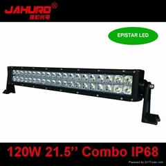 wholesale led bar light for car 120w led light bar 12 volt double row light bar