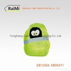 Top Quality New Desig Creative Rain  Reflective BackpackCover for Running