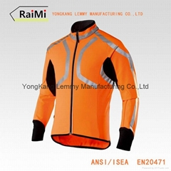 Wholesale Hot Selling Safety Reflective Running Vest For Cycling