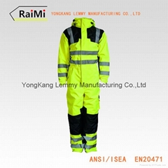 Hi Vis Wholesale Reflective Workwear Coverall
