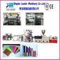 Plastic PVC sheet production machine