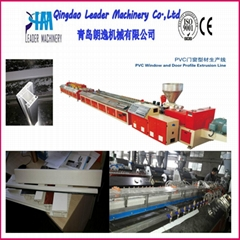 PVC profile production machine for window and door application