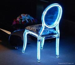 Customized acrylic chairs