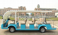 14 seats electric city bus resort car passenger car