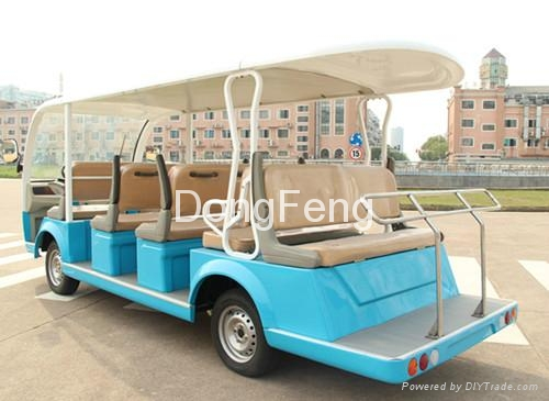 14 seats electric city bus resort car passenger car 2