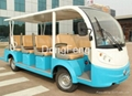 14 seats electric city bus resort car passenger car 3