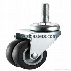 50mm TPR活動雙輪