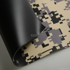 PVC Coated Fabric /Tarpaulin for Camouflage Tent