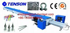 wire rope horizontal tensile testing machine