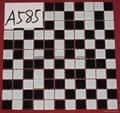 Hot Sell Glass Mosaic Tiles 2017 New Design  Swimming Pool Tiles   Z402