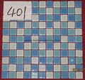 Swimming Pool Glass Mosaic Tiles    A2003