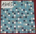 Mixted Glass & Stone Mosaic Tiles   300*300*8mm  3237