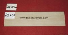 全瓷木纹砖,仿木地板瓷砖,600*150mm 615230