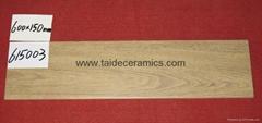 全瓷木纹砖,浅色仿木地板瓷砖 150*600mm 615003
