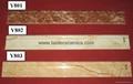 New Design Hot Sell 6D Inkjet Printing  Skirting Tiles 800*100mm  Y801