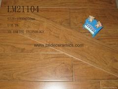廠家直銷高檔全瓷木紋磚,仿木地板瓷磚,1000*200mm  LM21104