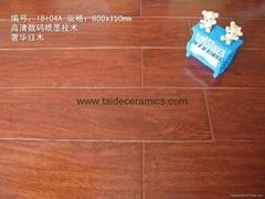 廠家直銷高檔全瓷木紋磚,仿木地板瓷磚,仿古磚 80x15cm 18104A