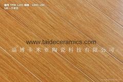廠家直銷高檔全瓷木紋磚 陶瓷地板磚 噴墨仿古磚 瓷磚 地磚 1000*200mm  TPW1205