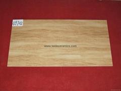 厂家直销 6D高清数码喷墨全抛釉 大理石地砖 瓷砖 45*90cm 49732