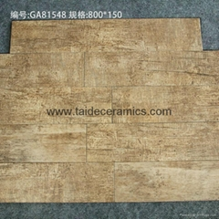 Hot Sell Full Polished Porcelain Wooden Tiles ,Floor Tiles ,80*15cm 815L02