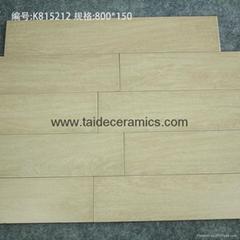 廠家直銷高檔全瓷木紋磚 仿木地板瓷磚 地面磚 80*15cm