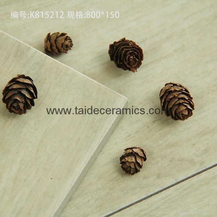 New Design Hot Sell Wooden Tiles Floor Tiles ,Ceramic Tiles ,80*15cm K815212 5