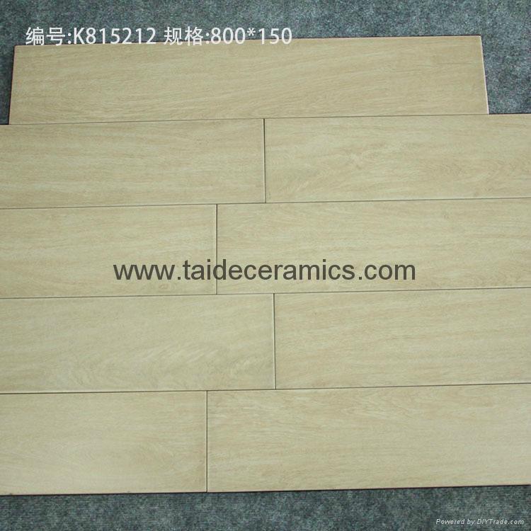 Hot Sell Full Polished Ceramic Wooden Tiles Floor Tiles 8015cm