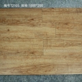 Hot Sell New Design  Ceramic Wooden Tiles 100*20cm