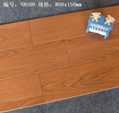 3D Inkjet Printing Wooden Flooring Tiles 800*150mm  N8509