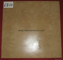 Hot Sell High Quality Yellow Rustic Tiles 60*60cm  6810