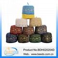 Embroidery omani hat arab women muslim