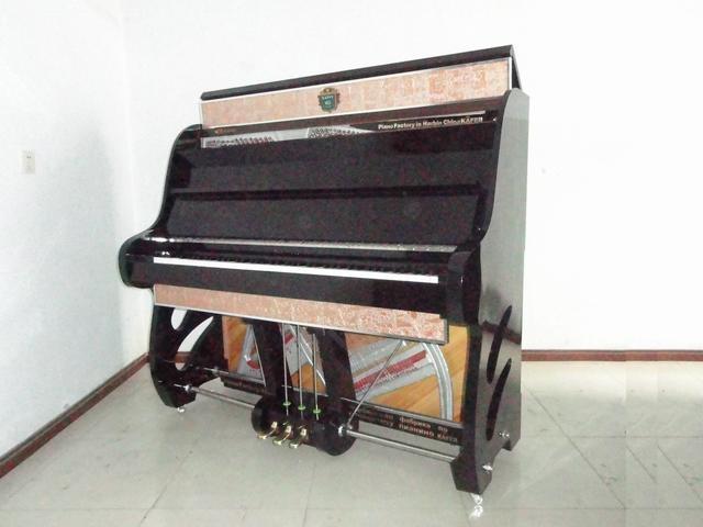 立式半裸钢琴 5