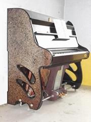 立式半裸钢琴