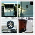chinese imported horse floats,2 horse slant load trailer 3