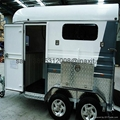 Safety and Durability semi horse camping